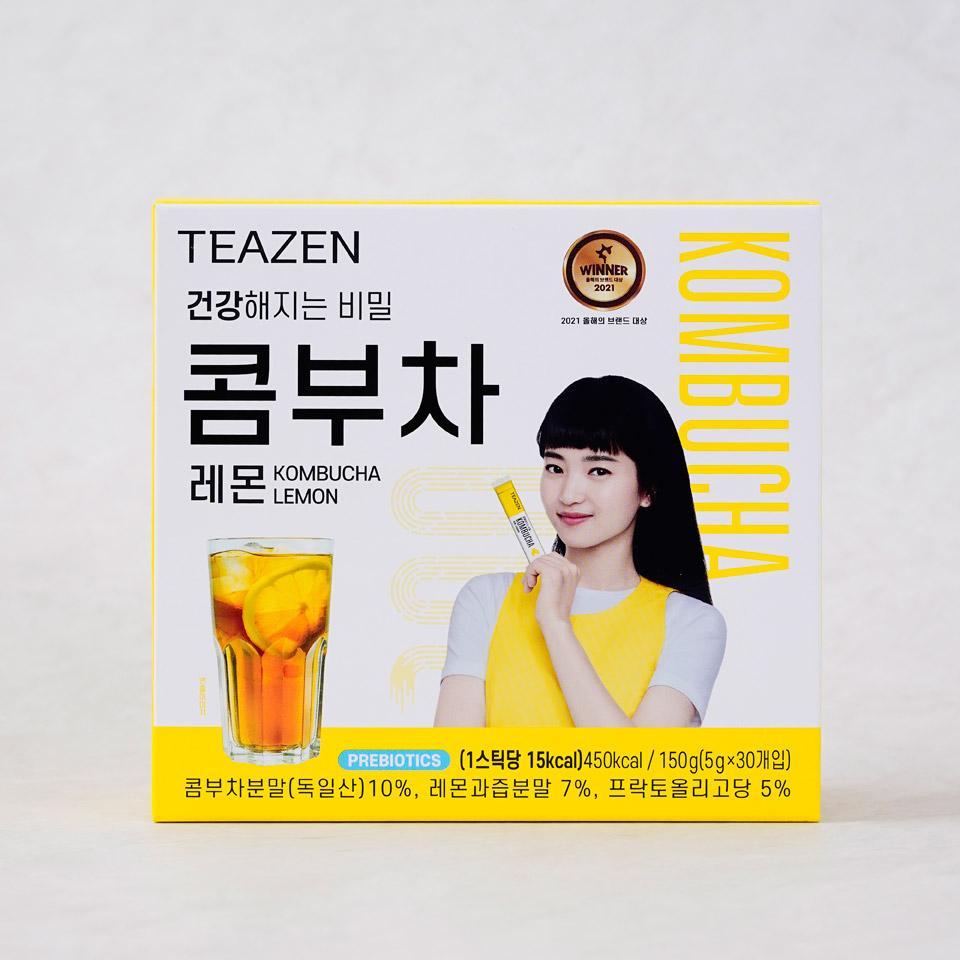 티젠 콤부차 레몬