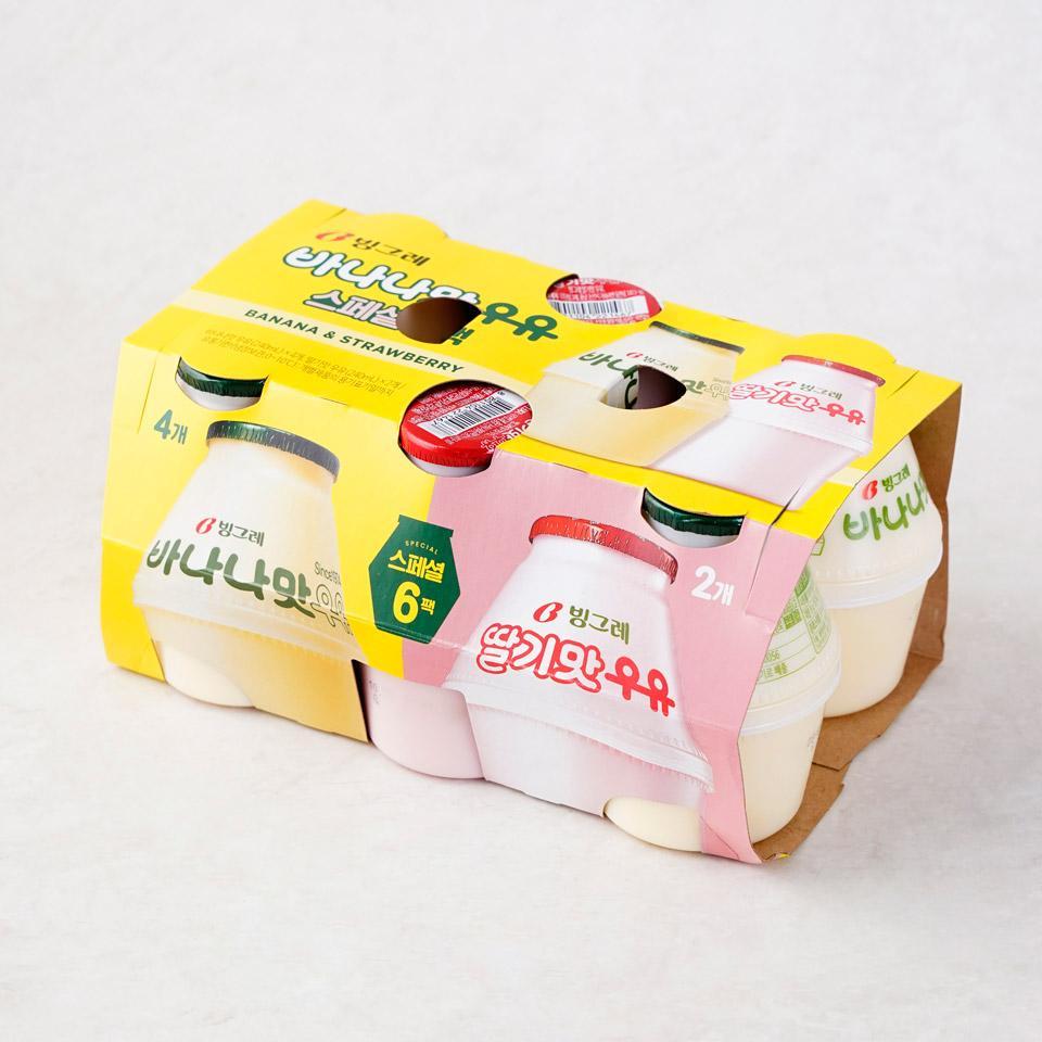 빙그레 바나나맛우유 스페셜